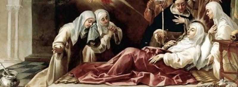 Gebed aan Saint Catherine van Siena