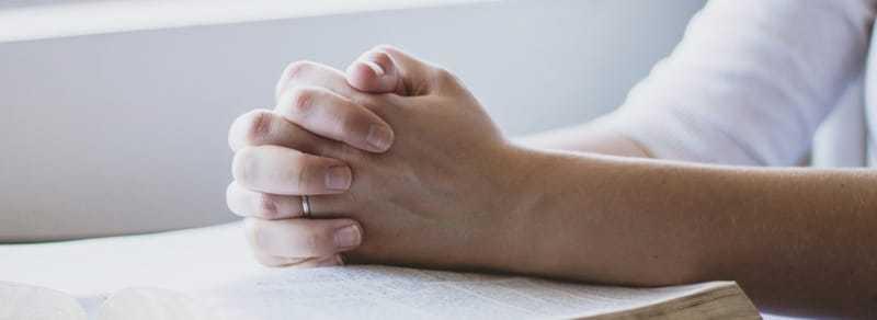 Oración para calmar e tranquilizar a unha persoa