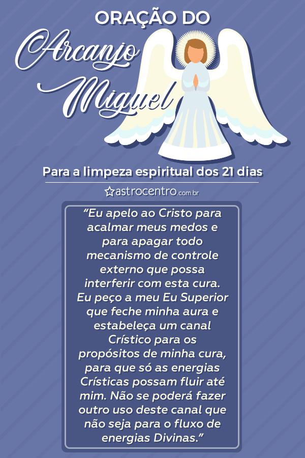 Limpieza espiritual de los 21 días del Arcángel Miguel