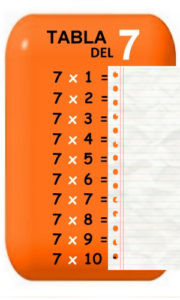 табела множења-од-7-покривена