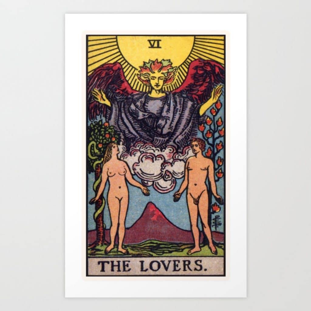los enamorados tarot